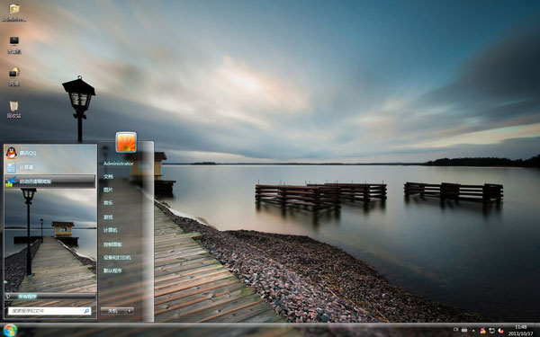 宁静瑞典风景主题