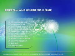 番茄花园Ghost Win10 64位 办公纯净版v2016年11月(激活版)