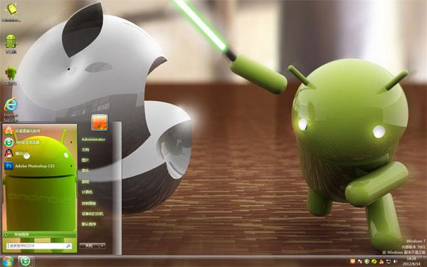 安卓大战苹果Win8高清壁纸