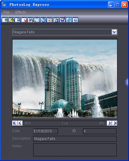 PhotosLog Express(照片管理工具) V2011.1 绿色版