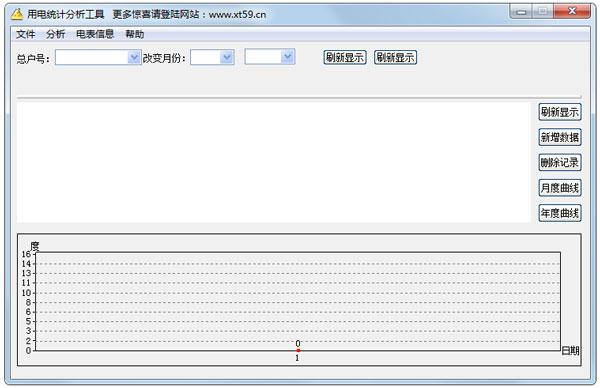 用电统计分析工具 V1.1 绿色版
