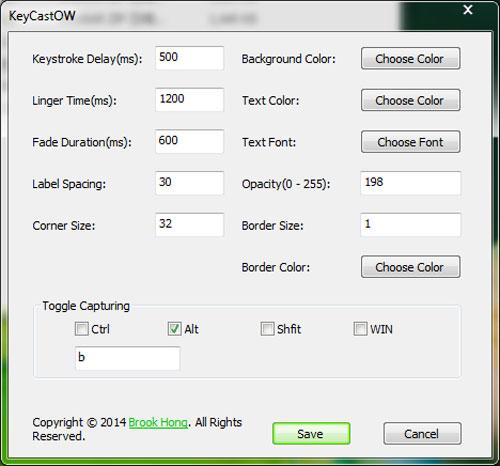 按键屏幕显示 V1.1 中文绿色版
